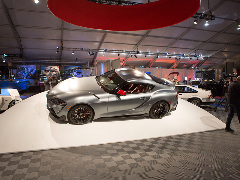 First production 2020 Toyota GR Supra goes for $2.1 million at Barrett-Jackson Auction