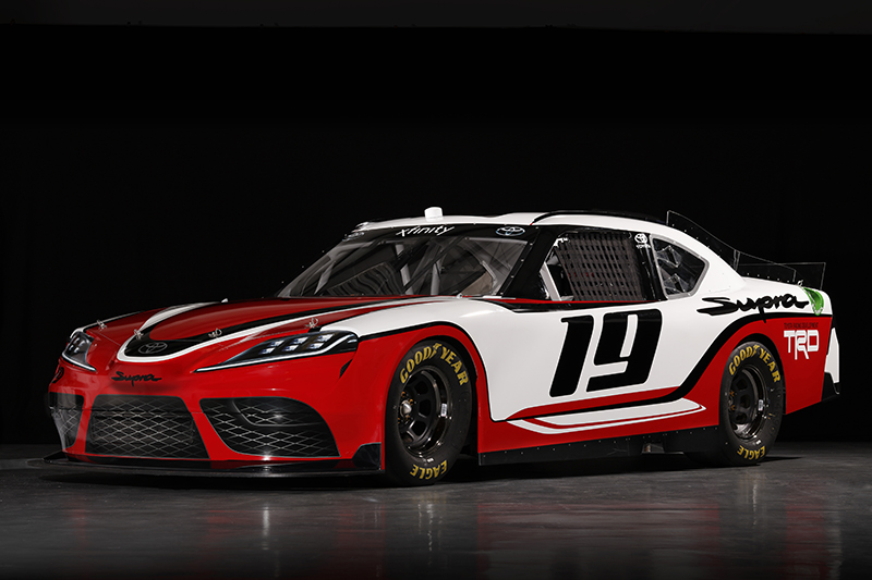 Toyota Supra gets back to American racing in NASCAR Xfinity Series