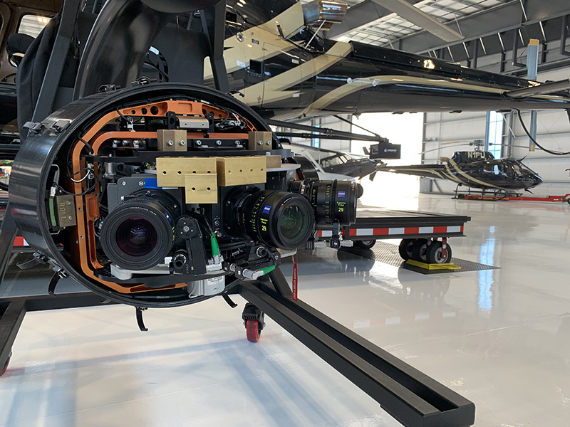 Pursuit Aviation develops innovative Hammerhead system for Sony VENICE cameras