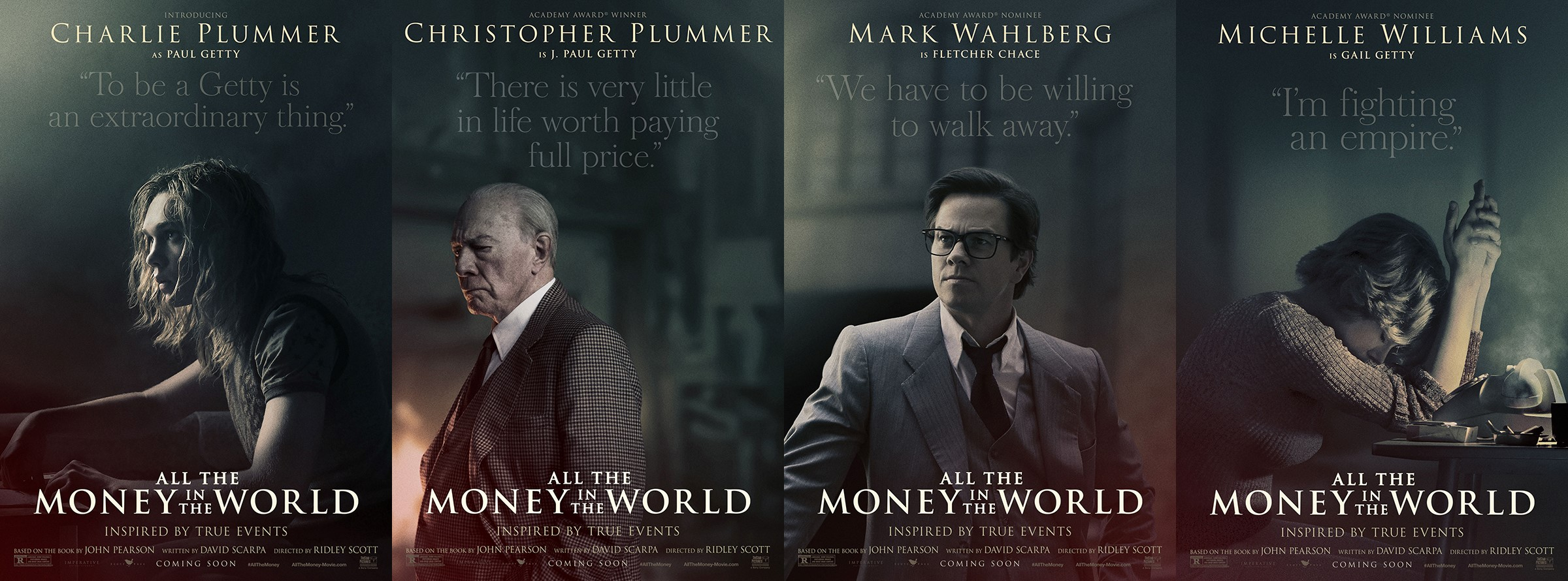 Christopher Plummer shines as J. Paul Getty in 'All the Money in the World' trailer